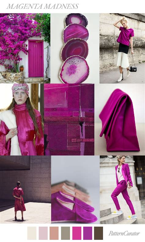 TRENDS // PATTERN CURATOR - MAGENTA MADNESS