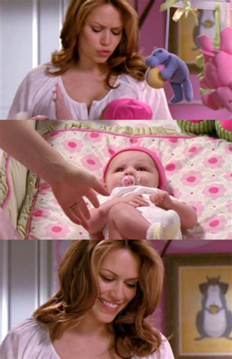 Haley and Baby Lydia - One Tree Hill Moms Photo (21811419