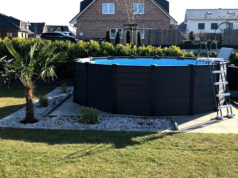 Bauphasen - Poolaufbauservice