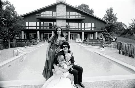 Roy Orbison with wife Barbara and sons Roy Kelton & Alex