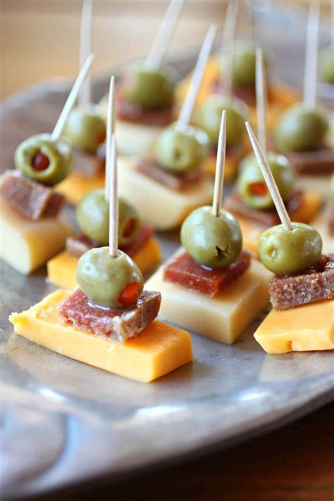Guava, Cheese and Green Olive Bites | Recipe | Appetizers