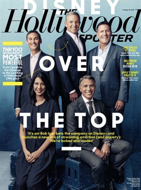 Flipboard: Disney's Bob Iger is The Hollywood Reporter's